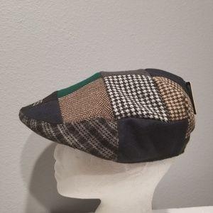 069b6a31302 Guinness Accessories - Guinness Patchwork Flat Hat Mens 59cm Medium New